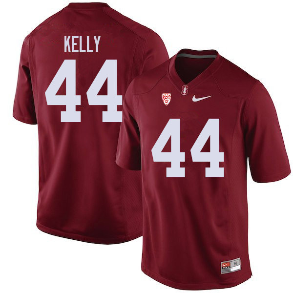 Men #44 Caleb Kelly Stanford Cardinal College Football Jerseys Sale-Cardinal