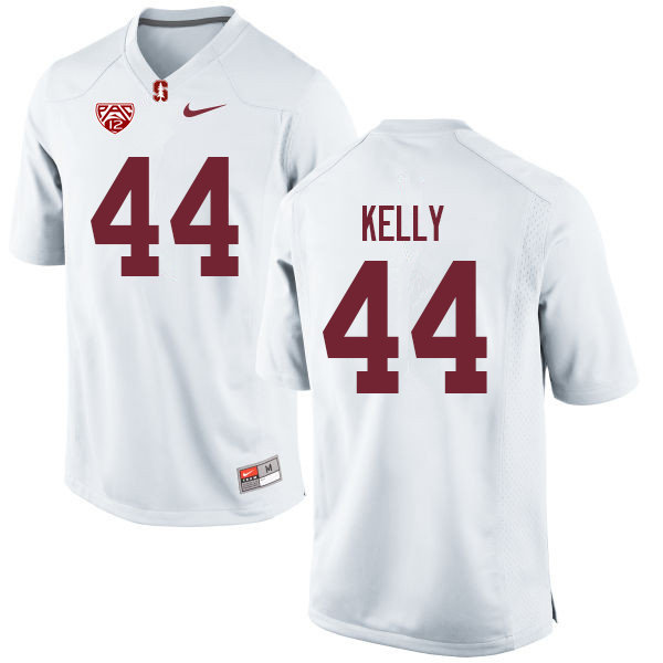 Men #44 Caleb Kelly Stanford Cardinal College Football Jerseys Sale-White