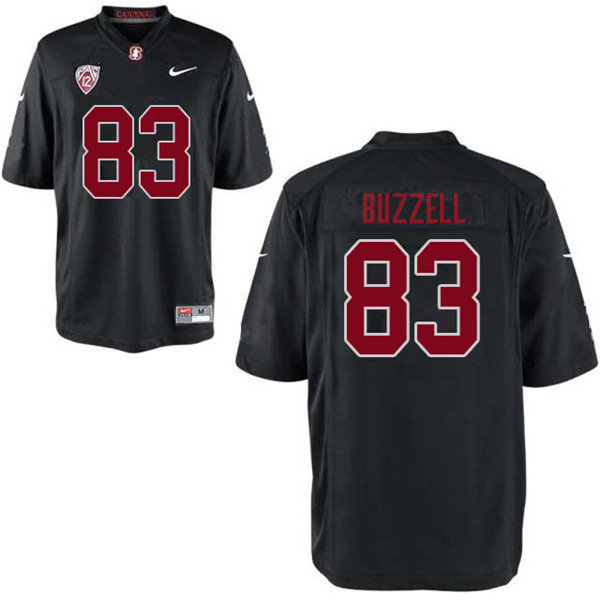 Men #83 Cameron Buzzell Stanford Cardinal College Football Jerseys Sale-Black
