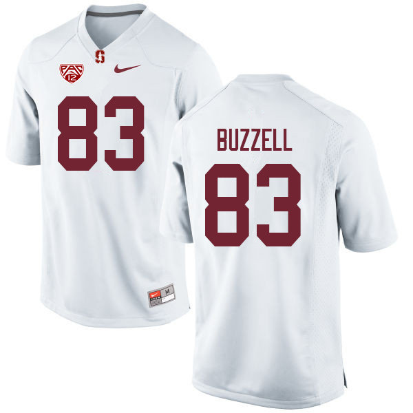 Men #83 Cameron Buzzell Stanford Cardinal College Football Jerseys Sale-White