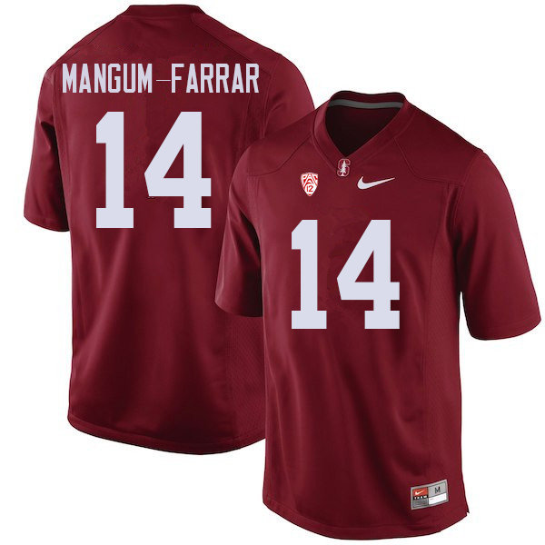Men #14 Jacob Mangum-Farrar Stanford Cardinal College Football Jerseys Sale-Cardinal
