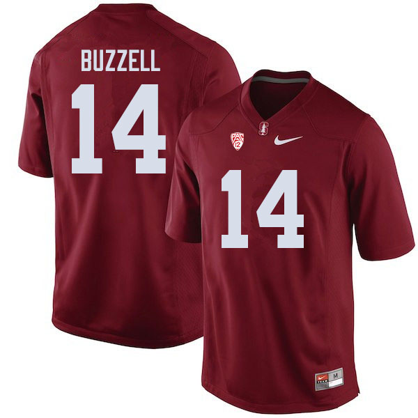 Men #14 Cameron Buzzell Stanford Cardinal College Football Jerseys Sale-Cardinal