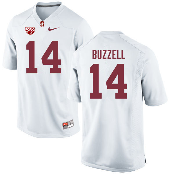 Men #14 Cameron Buzzell Stanford Cardinal College Football Jerseys Sale-White