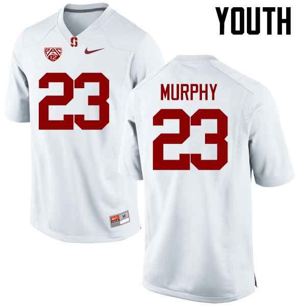 Youth Stanford Cardinal #23 Alameen Murphy College Football Jerseys Sale-White