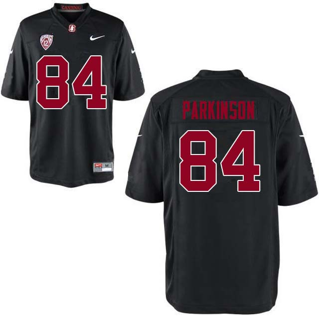 Men Stanford Cardinal #84 Colby Parkinson College Football Jerseys Sale-Black