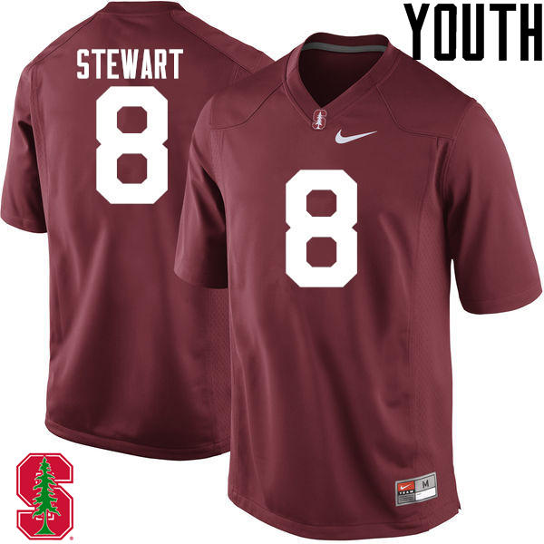 Youth Stanford Cardinal #8 DOnald Stewart College Football Jerseys Sale-Cardinal