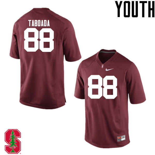 Youth Stanford Cardinal #88 Greg Taboada College Football Jerseys Sale-Cardinal