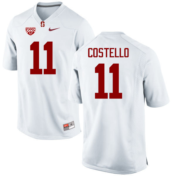 Men Stanford Cardinal #11 K.J. Costello College Football Jerseys Sale-White