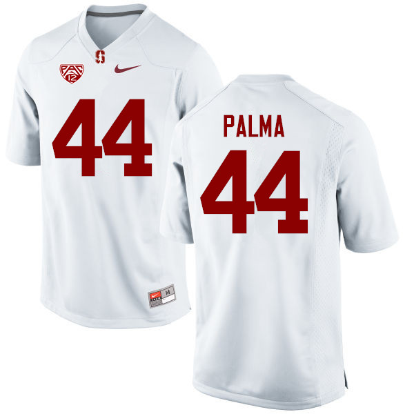 Men Stanford Cardinal #44 Kevin Palma College Football Jerseys Sale-White