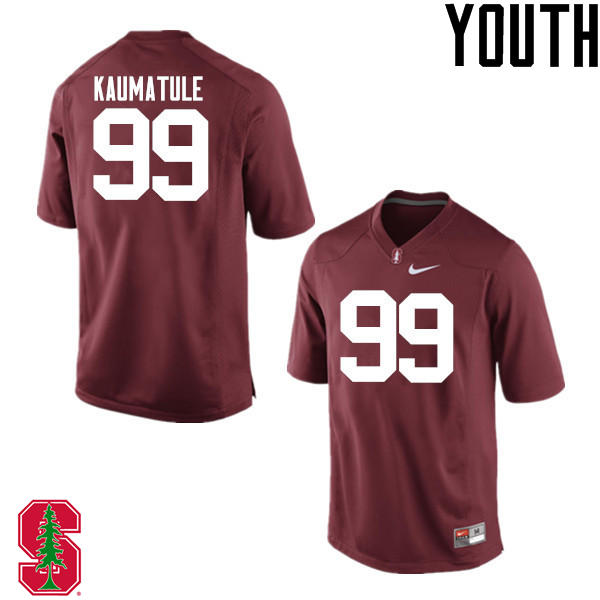 Youth Stanford Cardinal #99 Luke Kaumatule College Football Jerseys Sale-Cardinal