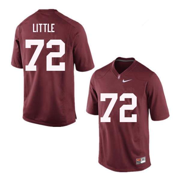 Men Stanford Cardinal #72 Walker Little College Football Jerseys Sale-Red