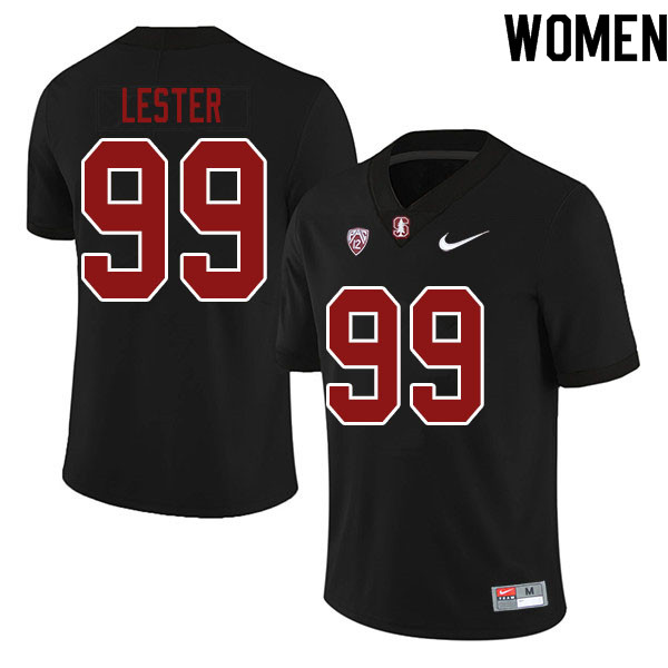 Women #99 Zephron Lester Stanford Cardinal College Football Jerseys Sale-Black