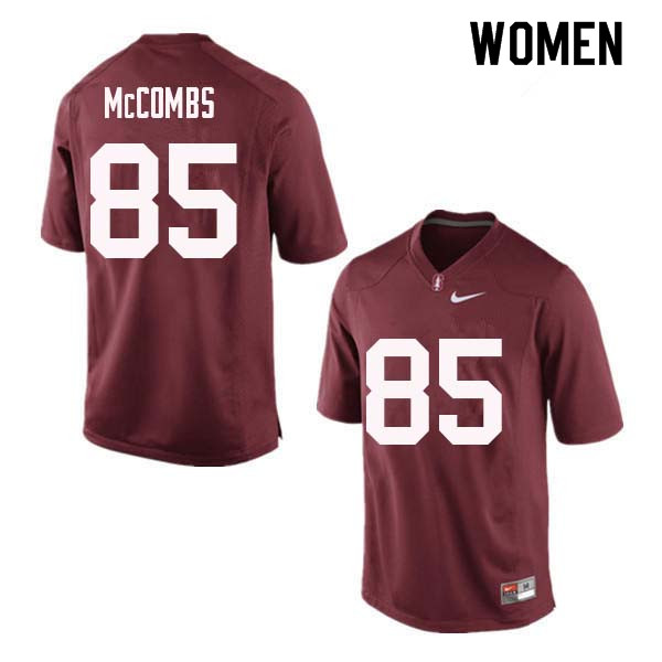 Women Stanford Cardinal #85 Kyle McCombs College Football Jerseys Sale-Red