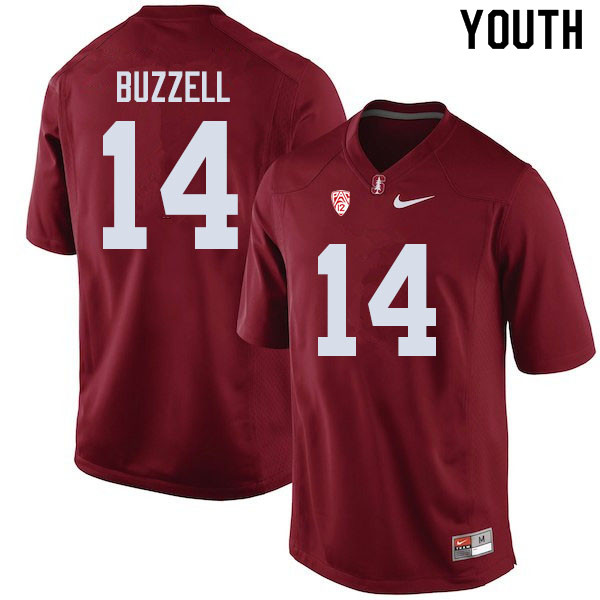 Youth #14 Cameron Buzzell Stanford Cardinal College Football Jerseys Sale-Cardinal