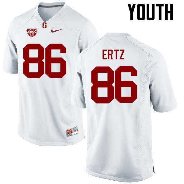 Youth Stanford Cardinal #86 Zach Ertz College Football Jerseys Sale-White